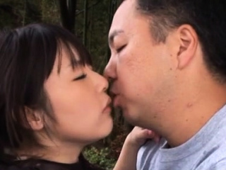 Cock riding from beautiful japanese maiden Tsubomi