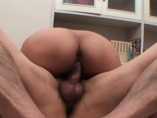 Horny Asian babe gets her hairy pussy fucked