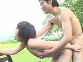 Beguiling japanese sheik Ageha Aoi caresses fat boner