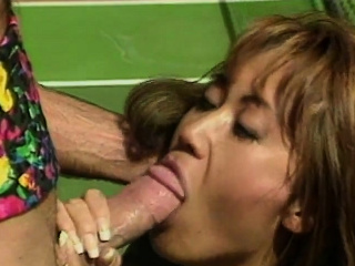 Asian MILF gets pounded on a tennis court