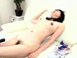 Prudish grown up and hairy girl